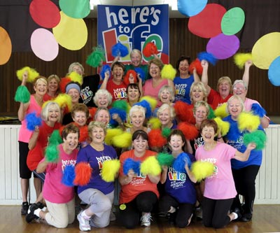 Dance For Life - fun friendship and fitness